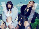 """Gigi i Bella Hadid w magazynie """"V"""", zdjęcie 3"""