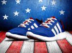 modne sneakersy  Adidas Stars and Stripes, zdjęcie 1
