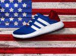 modne sneakersy  Adidas Stars and Stripes, zdjęcie 3