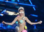 Miley Cyrus na gali MTV, zdjęcie 2