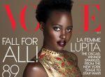 Lupita Nyong′o na okładce Vogue