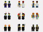 kolekcja LEESE dla figurek LEGO, zdjęcie 7