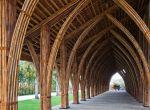 architektura Wietnam: Bambusowa sala konferencyjna, zdjęcie 2