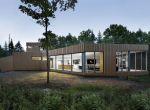 Minimalistyczny dom na wzgórzu, zdjęcie 8