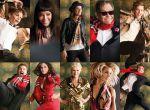 gwiazdy w świątecznej kampanii Burberry