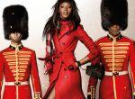 Naomi Campbell w kampanii świątecznej Burberry