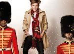 Romeo Beckham w kampanii świątecznej Burberry