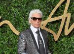 Karl Lagerfeld podczas British Fashion Awards 2015 w Londynie