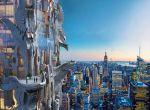 Architektura: Awangardowy drapacz chmur na Manhattanie, zdjęcie 7