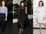 Brie Larson w CÉLINE, Zendaya, Kristen Stewart w Chanel Couture