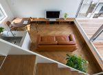 Architektura Tokio: Kompaktowy dom z tarasami, zdjęcie 5