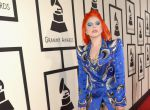 Lady Gaga w sukni Marc Jacobs w hołdzie Davidowi Bowie