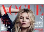Kate Moss w rockowym stylu