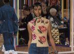 Moda wiosna - lato 2018: Alexander McQueen, zdj. 19