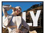 Claudia Schiffer na wzgórzu Hollywood