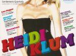 Heidi Klum dla GQ