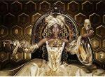 złota królowa