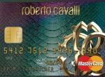 Karta kredytowa z skóry węża od Roberto Cavalli