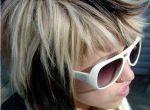 Styl emo - fryzury
