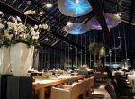 Ekologiczna restauracja w szklarni