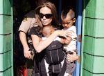 Angelina Jolie z dzieckiem