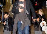 Brad Pitt z dzieckiem