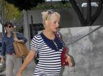 Christina w ciąży w marynarskim stylu