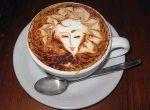 Rysowanie na kawie