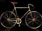 Złoty rower Swarovski