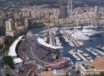 Widok na port w Monako - tamtędy przebiega wyścig F1