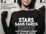 Sophie Marceau bez makijażu na okładce Elle