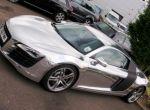Chromowane Audi R8