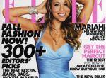 Mariah na okładce Elle - głowa jak u konia