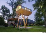 Dom na drzewie niekoniecznie na drzewie