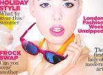 Agyness Deyn na okładce Vogue