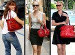 czerwone torebki Jennifer Garner, Kate Bosworth i Katherine Heigl