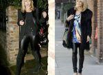 Nie tylko łowczyni trendów, Kate Moss, doświadcza lateksowego szału