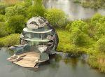 Najdroższy dom Wielkiej Brytanii przypomina kształtem orchideę