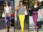 Rachel Bilson, Rihanna i Fergie pokochały kolorowy denim