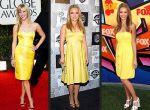 Reese Witherspoon, Hayden Panettiere i Jessica Alba postawiły  w roku 2007 na żółty kolor