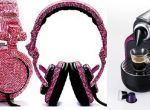 Svarovski Design - słuchawki i ekspres do kawy