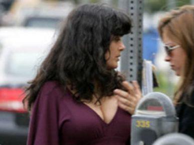 Salma Hayek w ciąży