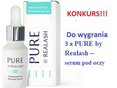 Konkurs internetowy: PURE by Realash