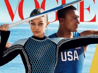 Gigi Hadid na okładce Vogue