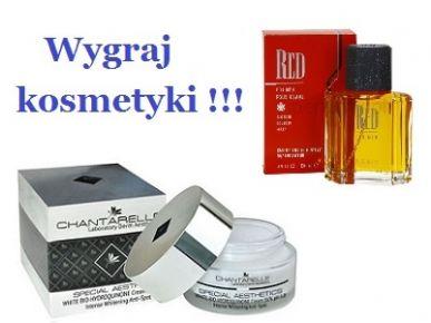 Konkurs internetowy: Wygraj kosmetyki !!!