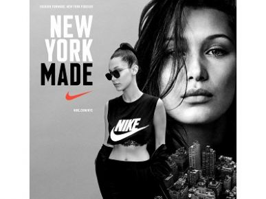 Belle Hadid w #NYMade