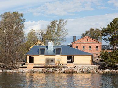 Sauna pod Helsinkami
