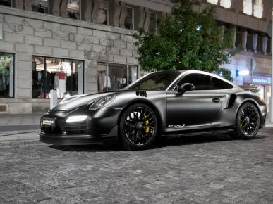 Porsche 911 Turbo S Dark Knight