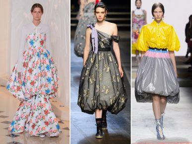 Moda wiosna 2018: spódnica bombka