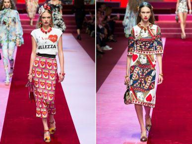 Moda wiosna – lato 2018: Dolce & Gabbana